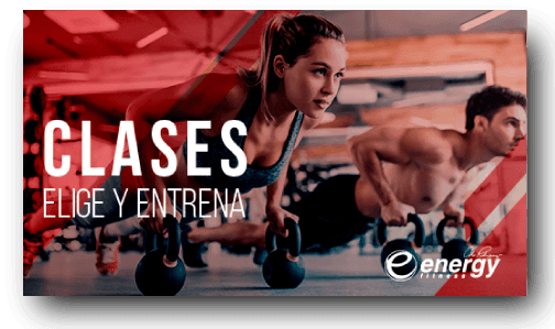 Clases - Energy Fitness